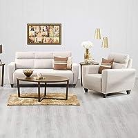 Home Centre Emily 3+1 Sofa Set - Beige