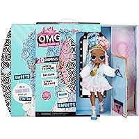 LOL Surprise OMG bambola alla moda SWEETS con 20 sorprese, tra cui vestiti, outfit glamour e accessori alla moda. LOL…