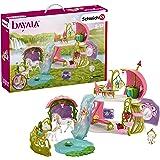 Bayala 42445 Glittering Flower House With Unicorns - Lake & Stable Plastica