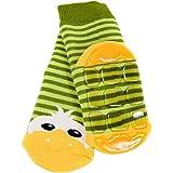 Weri Spezials - Calcetines - para bebé niño verde verde Talla:0 - 3 Months