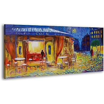 Made in Europe Acryl Gemälde Die Muse 120x60cm Handgemalte Bilder Leinwand Bild