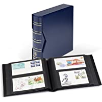 Album for 200 FDCs or Letters in DL Format, with Slipcase, Blue