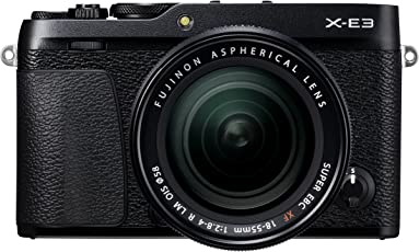 Fujifilm X-E3 + XF 18-55, Schwarz
