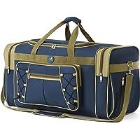Reisetasche für Frauen & Männer Faltbare Weekender-Reisetasche 65 cm Leichtes Oxford-Tuch Extra großes Sportgepäck…