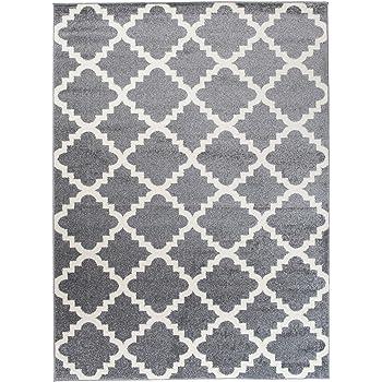 orientalisches marokkanisches teppich dichter und dicker flor modern designer muster ideal. Black Bedroom Furniture Sets. Home Design Ideas