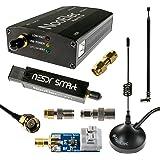 NooElec NESDR SMArt HF Paquete: 100kHz-1.7GHz Juego de Radio Definido por Software (SDR) para HF/UHF/VHF incluyendo RTL-SDR,