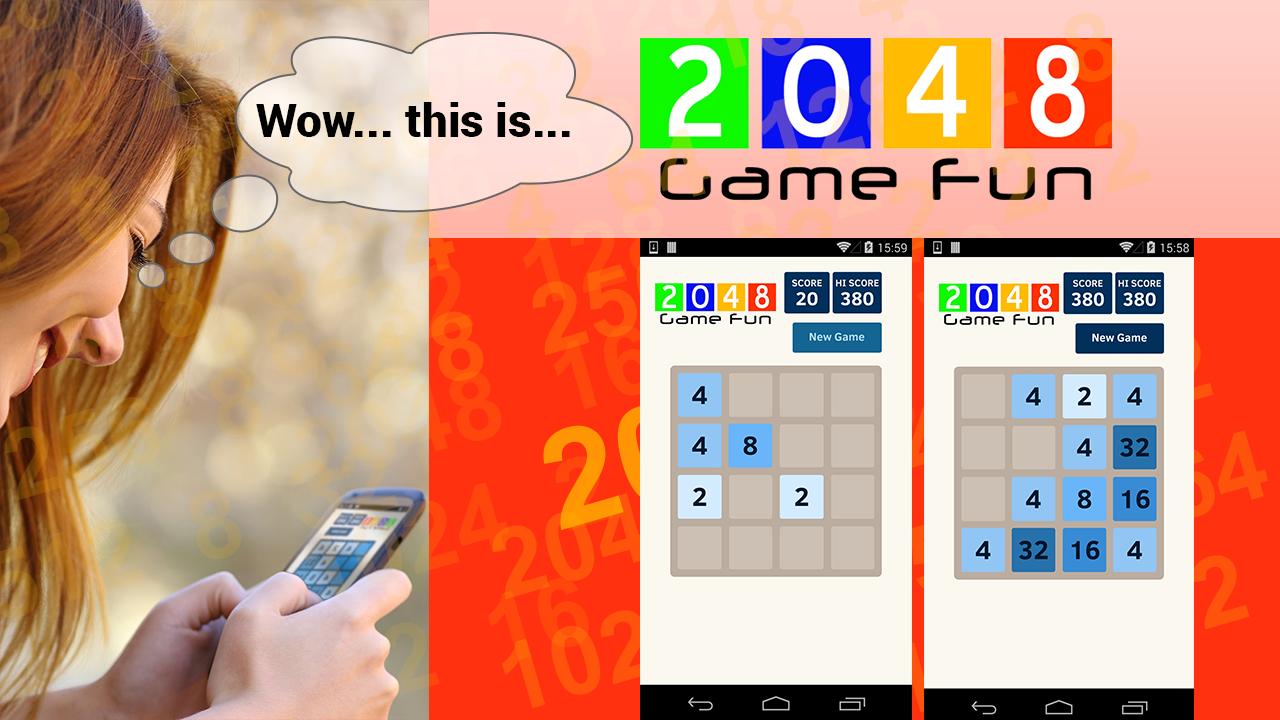 Zoom IMG-2 2048 game fun