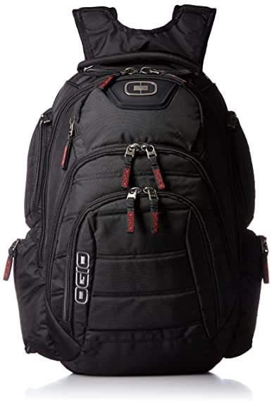 Ogio Renegade RSS Black Travel Backpack Camping School Electronics ...