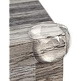 Eckenschutz und Kantenschutz von Homery, Eckschutz transparent extra weich für Tisch und Möbel-Ecken für Baby und Kinder