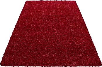 Carpetsale24 Hochflor Shaggy Teppich für Wohnzimmer Langflor Pflegeleicht Schadsstof geprüft 3 cm Florhöhe Oeko Tex Standarts Teppich