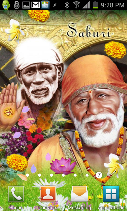 Shirdi Sai Baba Live Wallpaper Amazoncouk Appstore For Android