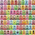 TPLGO 72 Pz ACNH NFC Tag Mini Gioco Carte Rare Personaggio Villico per New Horizons, Carte da Gioco Serie 1-4 per Switch / Sw