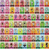 TPLGO 72 Pz ACNH NFC Tag Mini Gioco Carte Rare Personaggio Villico per New Horizons, Carte da Gioco Serie 1-4 per Switch…