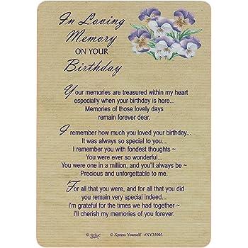 Grave Card In Loving Memory Of A Wonderful Grandma Free Card