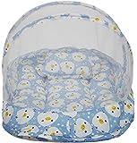 Amardeep Duckling Baby Mattress with Mosquito Net, Blue