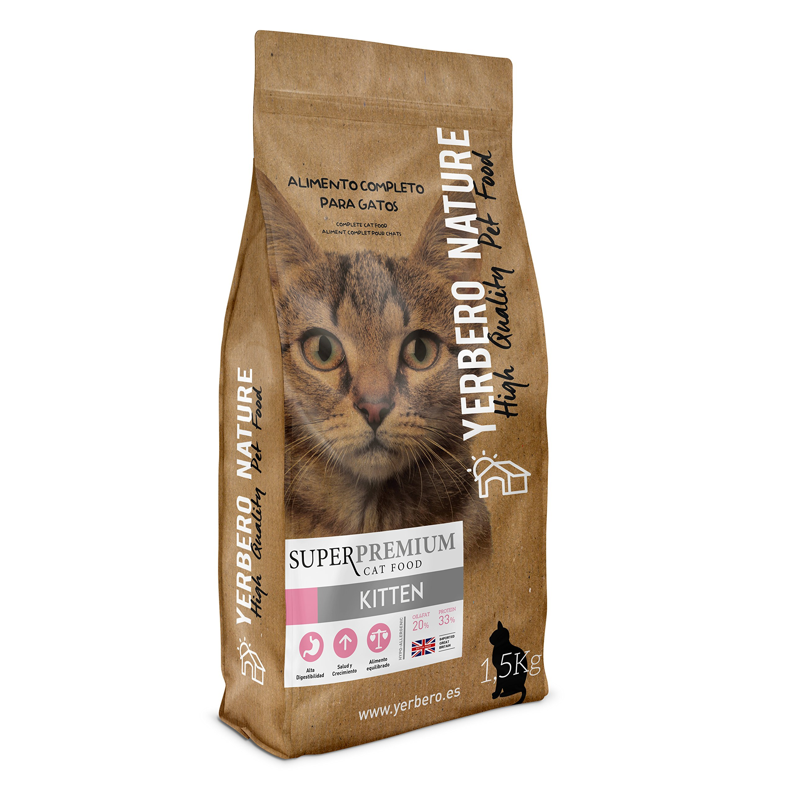 YERBERO Nature SUPERPREMIUM Cats (Kitten, 1,5 kg)