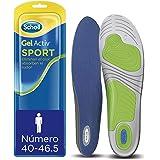 Scholl Gel Activ Sport - Plantillas para hombre, para zapatillas deportivas, mayor amortiguación y absorción del olor y sudor