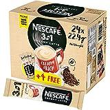 NESCAFE 3in1 Instant Creamy Latte Sachet - 22.4 gm x 24