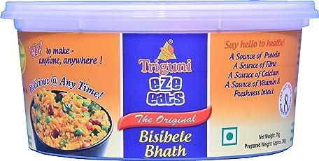 Triguni Eze Eats Bisibele Bhath -