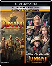 Jumanji: Welcome to the Jungle + Jumanji: The Next Level (4K UHD & HD) (4-Disc Box Set)