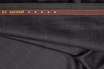 Raymond Men's Unstitched Trouser Fabric - Grey_1.3 m