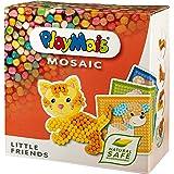 PlayMais Mosaic Little Friends kit de Loisirs créatifs pour Filles et garçons de 3 Ans +   Plus de 2300 pièces & 6 modèles de