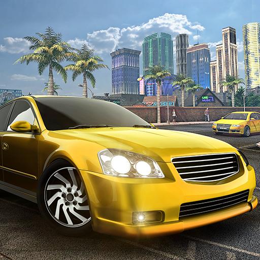 Mega City Limousine Fahrer Transporter Passagiere Sim 3D: Moderne Stadt Luxus Taxi Drive Simulator Adventure Mania Spiel (Taxi Fahrer Spiele)
