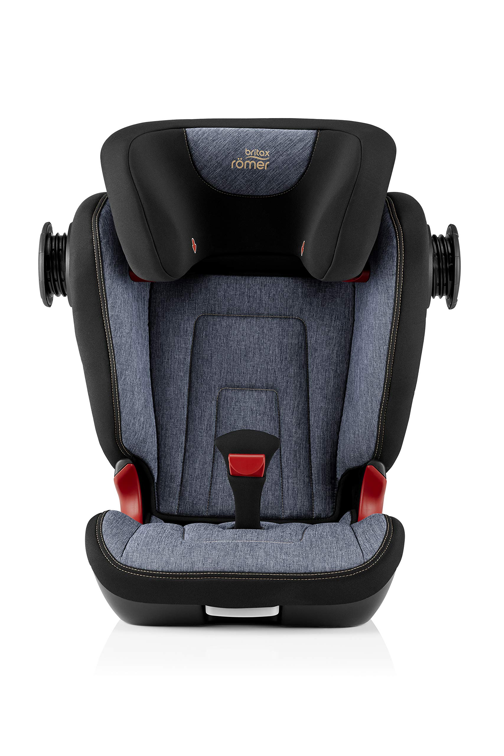 Britax Römer KIDFIX² S Group 2-3 (15-36kg) Car Seat - Blue Marble Britax Römer Advanced side impact protection - sict offers superior protection to your child in the event of a side collision. reducing impact forces by minimising the distance between the car and the car seat. Secure guard - helps to protect your child's delicate abdominal area by adding an extra - a 4th - contact point to the 3-point seat belt. High back booster - protects your child in 3 ways: provides head to hip protection; belt guides provide correct positioning of the seat belt and the padded headrest provides safety and comfort. 6