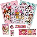 MGA Entertainment LOL Surprise Deluxe Stationery Set - Kit matite per Notebook per matite per Ragazze