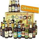 Bier Adventskalender Welt und Deutschland mit Tiger + Saigon + Kulmbacher + mehr ... Ein tolles Geschenk für Männer. Bierset + Geschenk, Biersorten aus aller WELT & DEUTSCHLAND. Bieradventskalender 2018 - mit 24 Biersorten in FLASCHEN Adventskalender Bier Welt 2018 - Adventskalender für Männer, Adventskalender für Erwachsene, Bierkalender Adventskalender Alkohol, Weihnachtskalender mit Bier, Bier Adventskalender Weihnachtsgeschenke Bier Männer