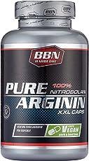 BBN Hardcore 100 prozent Nitrobolan Pure Arginin Kapseln 100 Kapseln pro Dose, 1er Pack (1 x 100 Stück)
