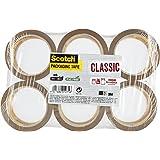 Scotch CL5066.F6.B Verpakkingstape, 6 rollen - Sterk verpakkingsband - pakketplakband, bruin