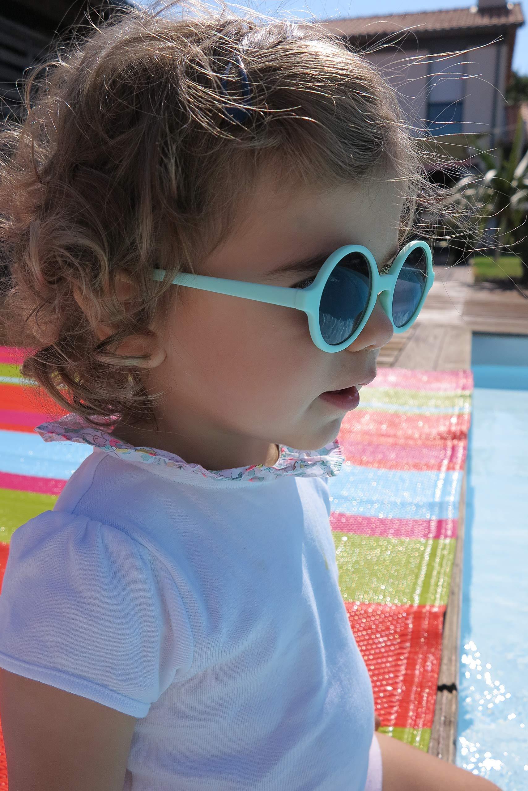 WOAM - Gafas de sol redondas para bebés - 2-4 años 5