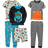 Simple Joys by Carter's 6-Piece Snug Fit Cotton Pajama Set Niños, Pack de 6