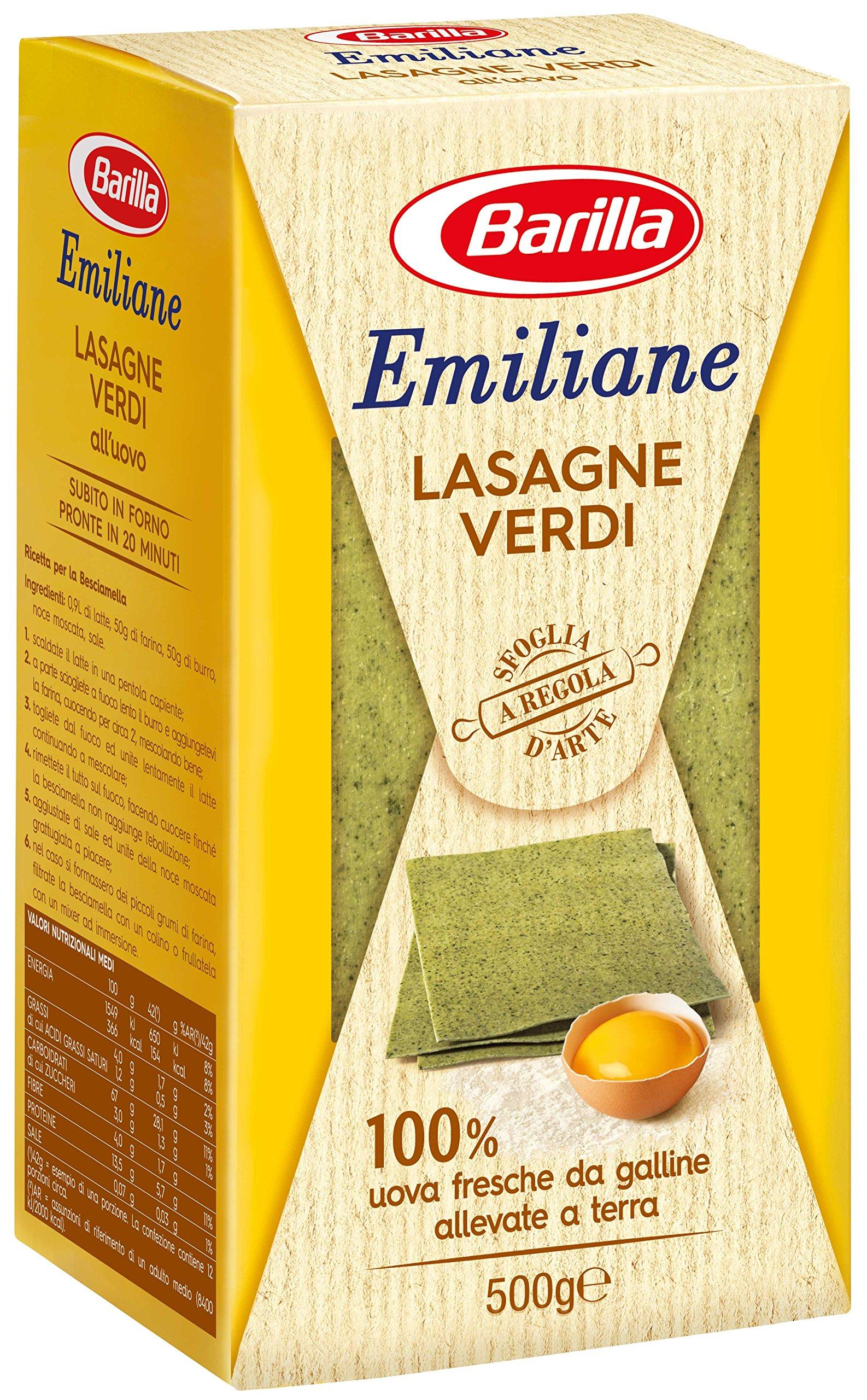 Emiliane Lasagne Verdi all'Uovo - 500 gr