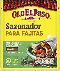 Old El Paso Sazonador para Fajitas, 30g