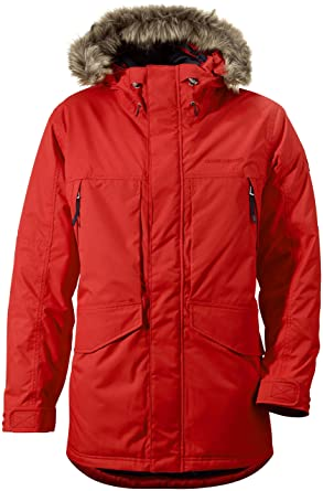 Didriksons Covert Mens Waterproof Windproof Hooded Parka Jacket ...
