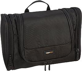 AmazonBasics Black Toiletry Bag (ZH1501159R1)