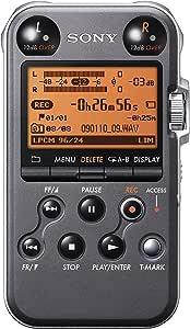 Sony Pcm M10 Tragbares Lineares Pcm Aufnahmedeck 96 Khz 24 Bit 4gb Silber Musikinstrumente