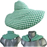 Neck Pillow redWhite Hot & Cold