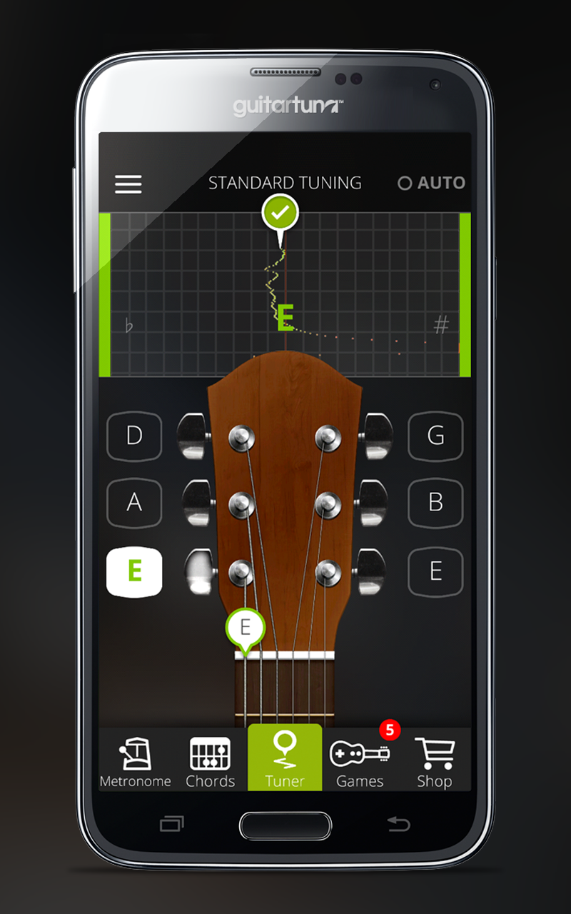 Stimmgerät Für Gitarre Bass Und Ukulele Guitar Tuna The Ultimate Free Tuner With Chord Tab Game And Metronom