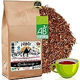 Nabür - Rooibos Tè Rosso Organico 200Gr ⭐ Roibos Ricco, Delicato, Rilassante, Certificato Organico ⭐ Sud Africa, 0% Teina ⭐ P