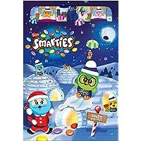 NESTLÉ SMARTIES Adventskalender, Weihnachtskalender gefüllt mit Figuren aus Milchschokolade & SMARTIES Schokolinsen, 1er…