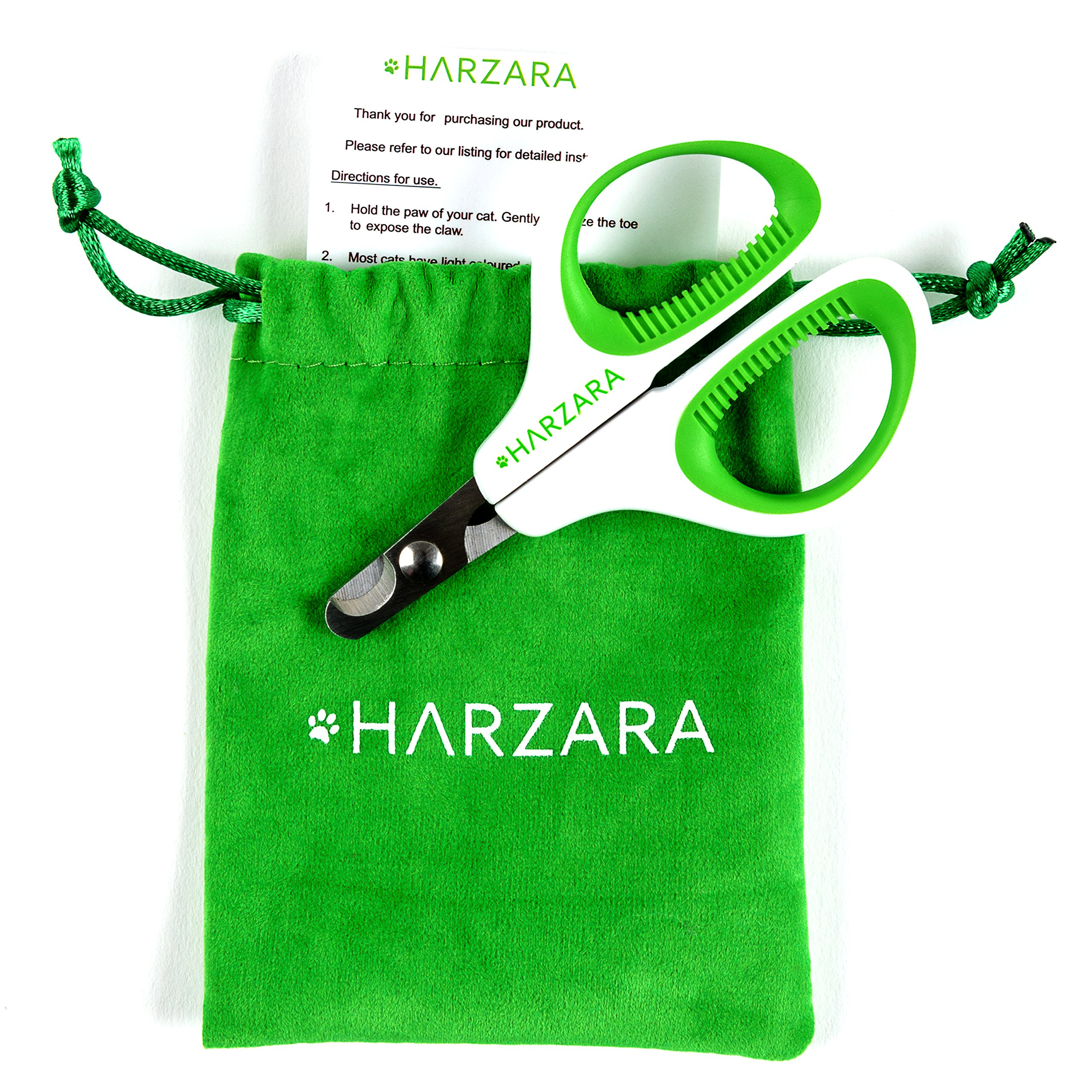 Harzara Professional Pet Nail Clippers Best for a Cat Puppy