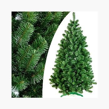 Amazon De Fairytrees Weihnachtsbaum Kunstlich Fichte Natur Gruner