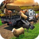 Transport Truck Farm Animal Simulator 3D: Animal Transporter Cargo Offroad Truck Parking Racing Driving Adventure Game