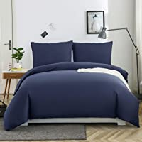 AYSW 14 Couleurs Parure de lit avec Housse de Couette 200 x 200 cm / 65 x 65 x 2 cm Parure 3 pieces pour 2 Personnes…