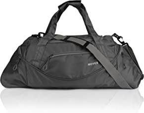 Novex Polyester 35 Ltr Grey Soft Sided Travel Duffle