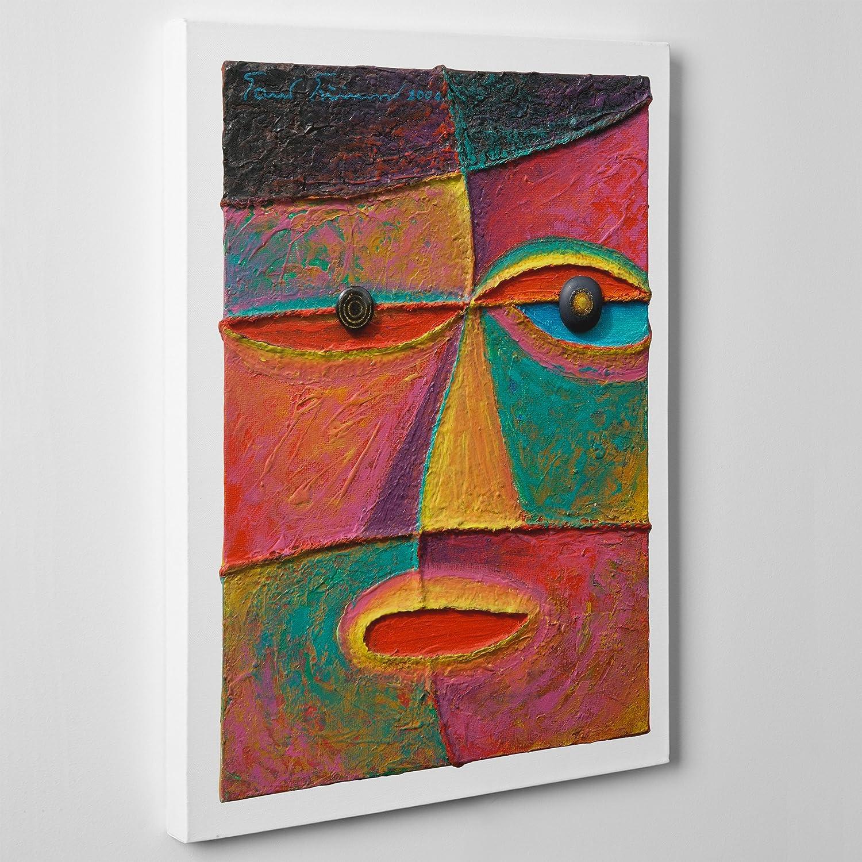 QUADRO MODERNO su Tela Canvas - Arte Astratta - Cubismo Style ...
