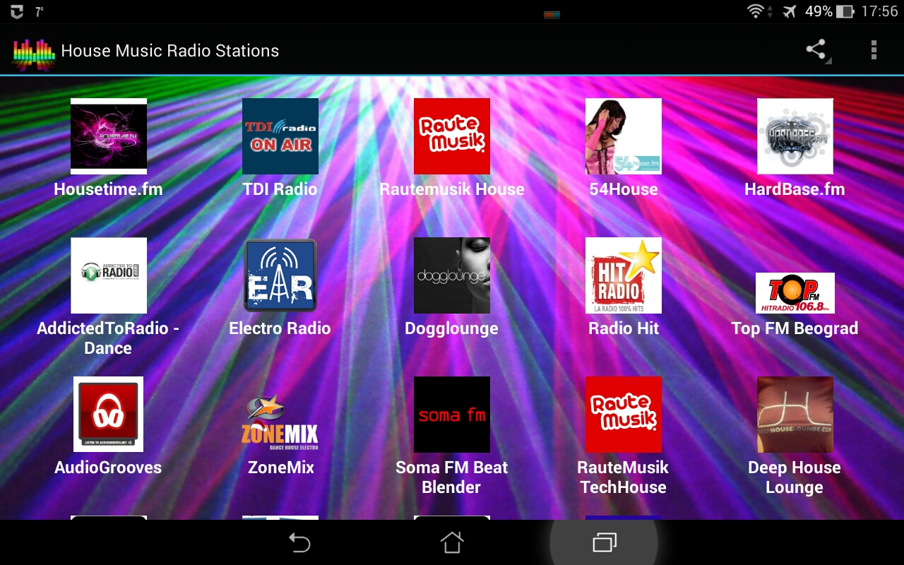 House music radio stations appstore for android for House music radio